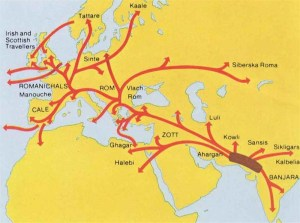 Map-of-Gypsy-migration-image-Romani-Rad